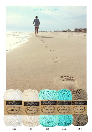 Kleurenpallet Catona - Color Yourlife - Soft Beach