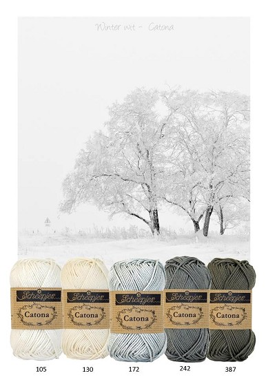 Kleurenpallet Catona - Color Yourlife - Winter Wit