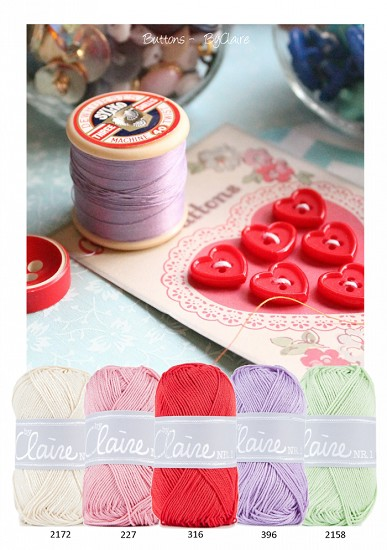 Kleurenpallet byClaire- Color Yourlife - Buttons