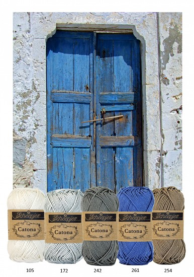 Kleurenpallet Catona - Color Yourlife - Old Blue