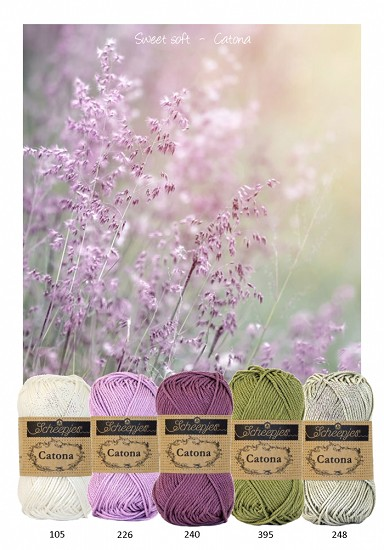 Kleurenpallet Catona - Color Yourlife - Sweet Soft