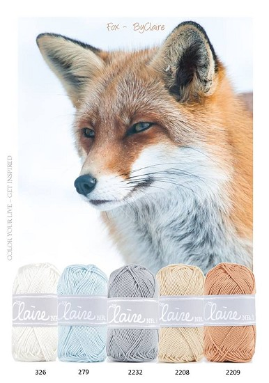 Kleurenpallet byClaire- Color Yourlife - Fox