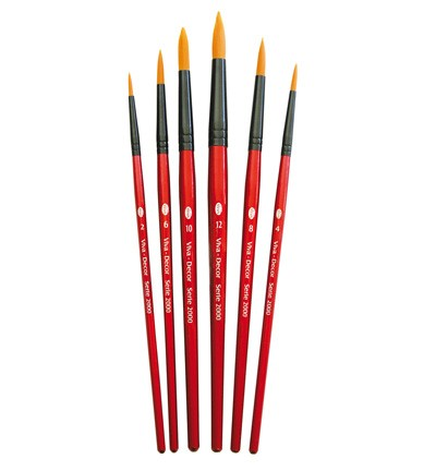 Viva - Artist Brush Set - Penselen Rond