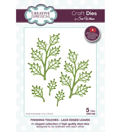 Stansmal Creative Expressions - Craft Dies - Lace Edged Leaves