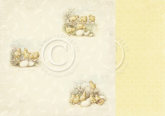 Scrappapier PION Design - Easter Greetings - Easter Morning