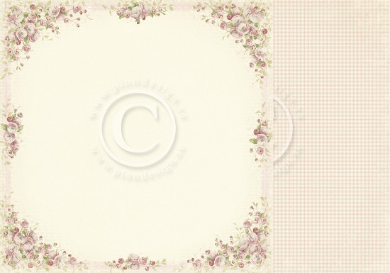 Scrappapier PION Design - Easter Greetings - Cherry Blossom