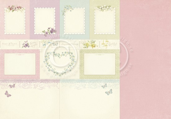 Scrappapier PION Design - Easter Greetings - Memory Notes