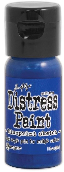 Distress Spray Paint - 1oz - Flip Cap Blueprint Sketch