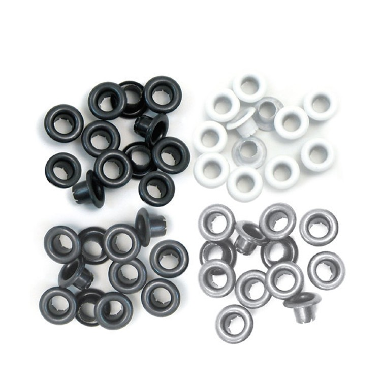 We R Memory Keepers - Eyelets Standard - Grey