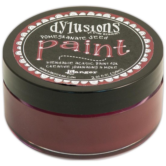 Dyan Reaveley`s - Dylusions Paint - Pomegranate Seed