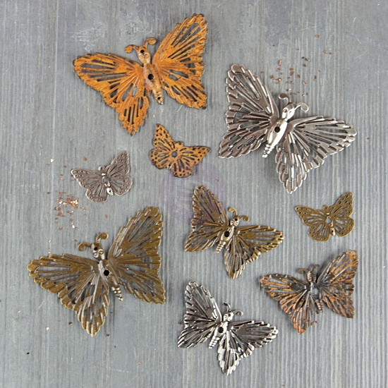 Finnabair - Mechanicals: Grungy Butterflies