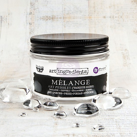 Finnabair - Art Ingredients - Mélange Art Pebbles