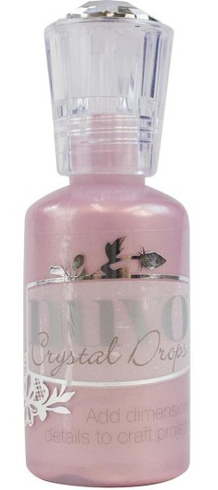 Nuvo - Crystal Drops - Raspberry Pink