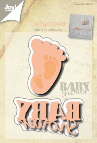 Joy! Crafts - Cutting & Embossing stencil - Babyvoetje