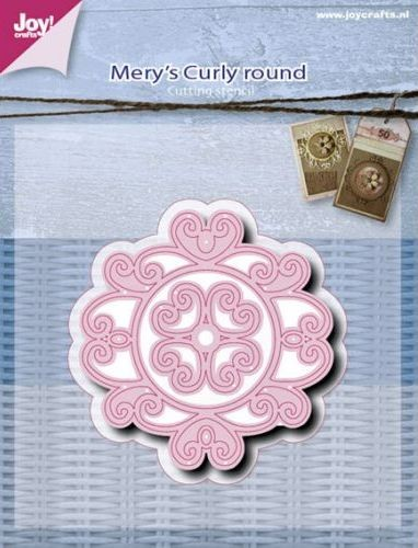 Joy! Crafts - Mery`s Curly Round