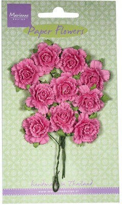 Marianne Design - Paper Flowers - Carnations Bright Pink