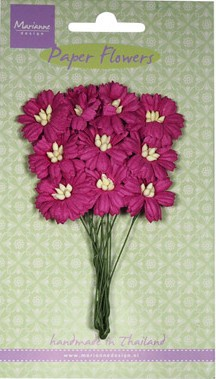 Marianne Design - Paper Flowers - Daisies Medium Pink
