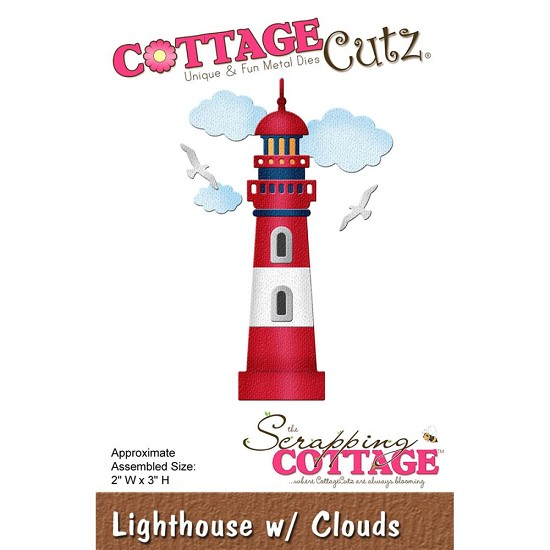 Stansmal - Cottage Cutz - Lighthouse with Clouds