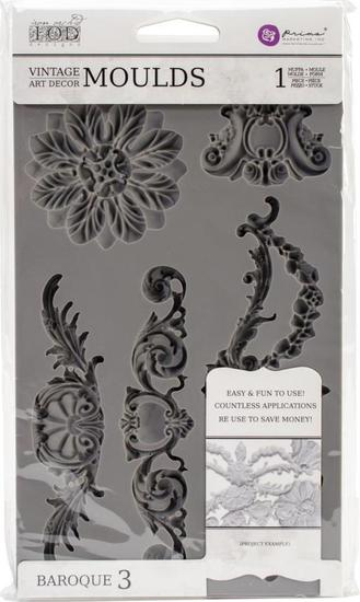 Prima Marketing - Vintage Art Decor Moulds - Baroque 3
