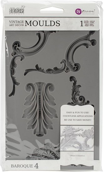 Prima Marketing - Vintage Art Decor Moulds - Baroque 4