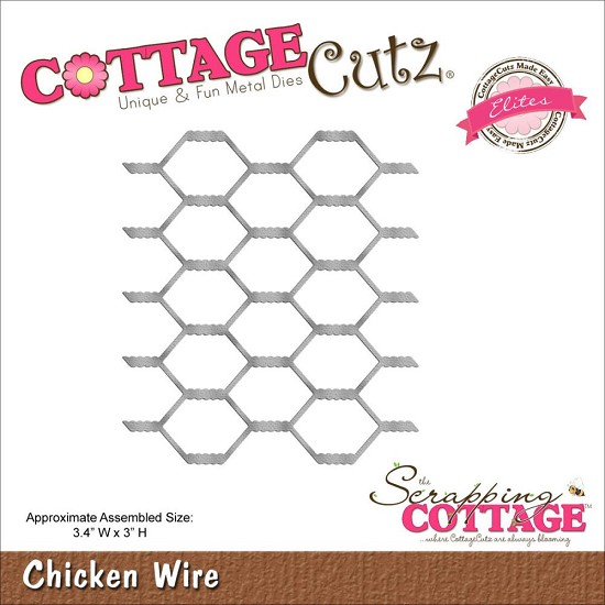 Stansmal - Cottage Cutz - Chicken Wire
