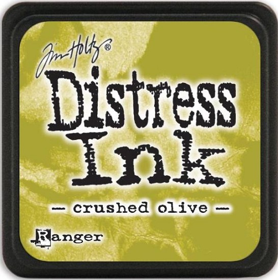 Distress Inkt - Mini - Crushed Olive