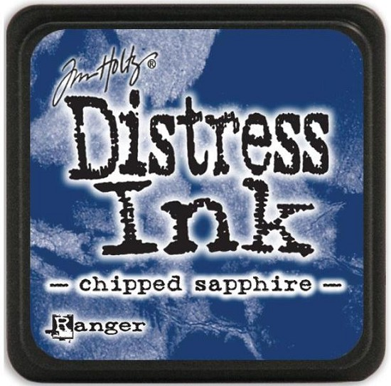 Distress Inkt - Mini - Chipped Sapphire