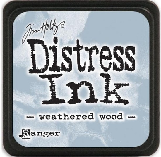 Distress Inkt - Mini - Weathered Wood