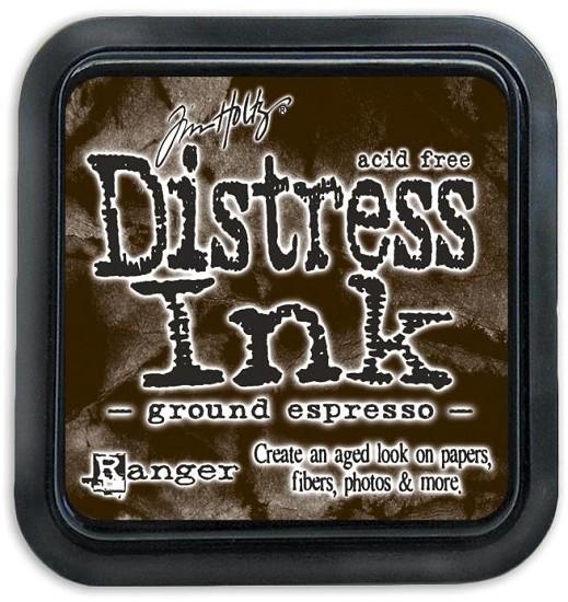 Distress Inkt - Mini - Ground Espresso
