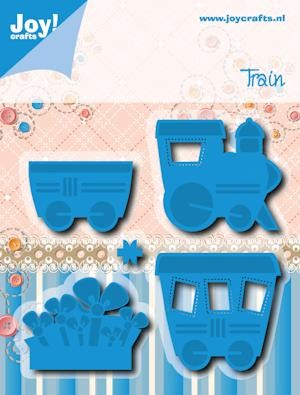Noor! Design - Cutting & Embossing stencil - Trein