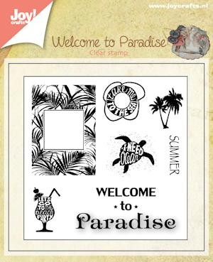 Joy! Crafts - Clearstamp - Welcome to Paradise