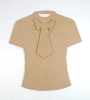 Joy! Crafts - MDF - T-shirt en stropdas