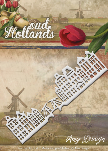 Stansmal - Amy Design - Oud Hollands - Gevelrand