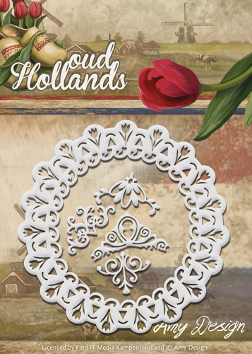 Stansmal Amy Design - Oud Hollands - Tulp Frame
