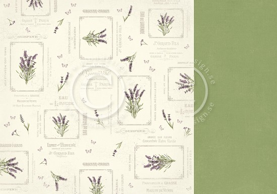 Scrappapier PION Design - Scent of Lavendel - French Country