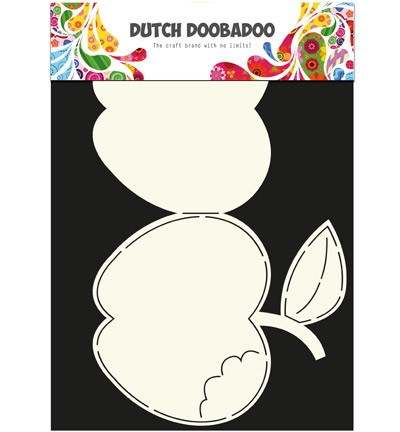 Dutch Doobadoo - Dutch Card Art - Apple