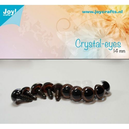 Joy! Crafts - Kristal ogen - 14mm