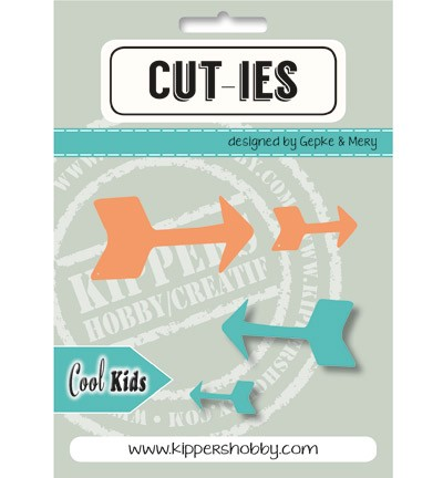 Stansmal Kippers Hobby - CUT-TIES - Cool Kids Arrow