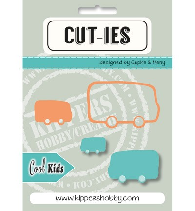 Stansmal Kippers Hobby - CUT-TIES - Cool Kids Bus