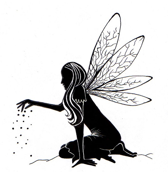 Lavinia Stamps - Fairy Dust Silhouette