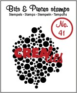 Clearstamp Crealies - Bits & Pieces - No 41