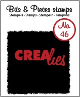 Clearstamp Crealies - Bits & Pieces - No 46