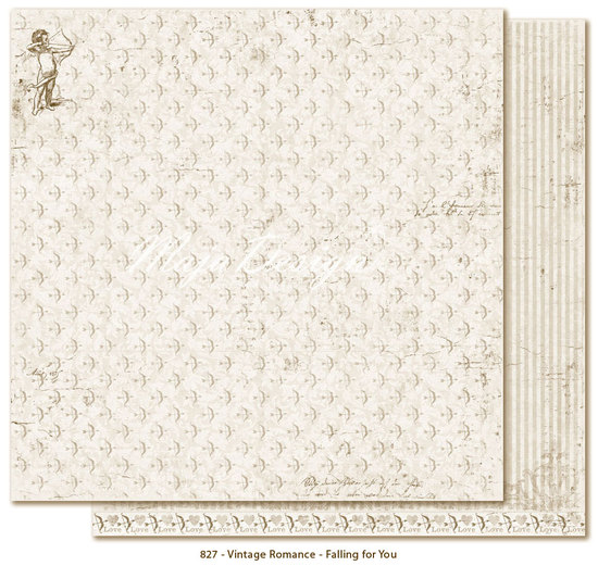 Scrappapier Maja Design - Vintage Romance - Falling for You
