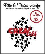 Clearstamp Crealies - Bits & Pieces - No 48