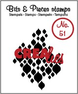 Clearstamp Crealies - Bits & Pieces - No 51