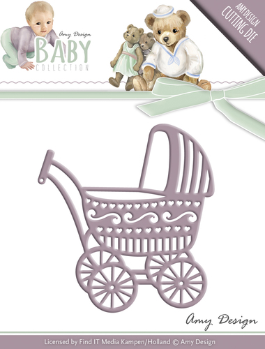 Stansmal - Amy Design - Baby Collection - Baby Carriage