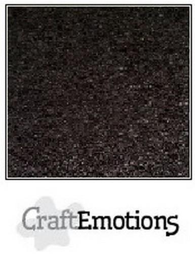 CraftEmotions - Kraft cardstock 30,5 x 30,5 cm - Zwart