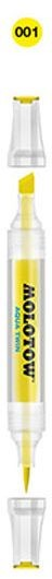 Molotow - Aqua Twin Marker - Kleur 001 Primary Yellow