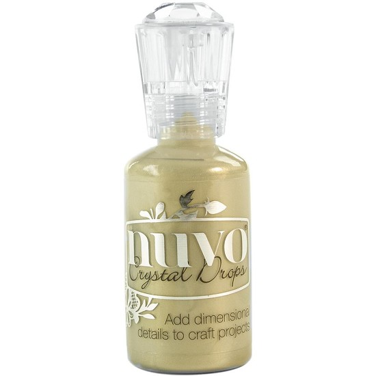 Nuvo - Crystal Drops - Pale Gold