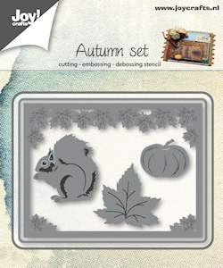 Joy! Crafts - Cutting & Embossingstencil - Herfst setje